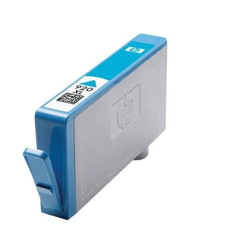 Hp 920xl Colour hp 920xl high capacity cyan ink cartridge cd972ae