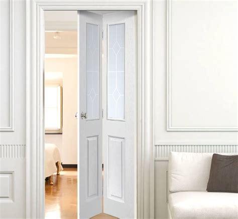 half glass bifold doors half glazed interior doors styles and materials home
