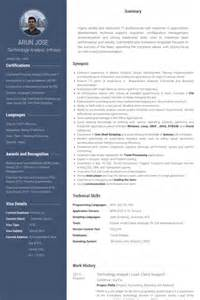Lead Analyst Sle Resume by Technology Analyst Resume Sles Visualcv Resume Sles Database