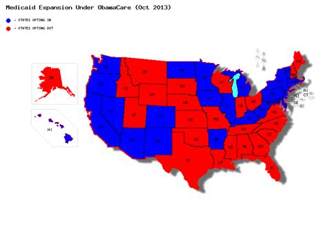 map us governors 2 the progressive influence medicaid expansion humanity at