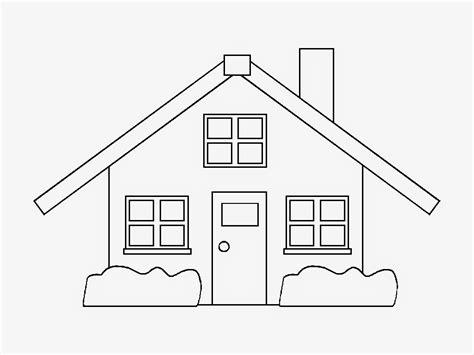 imagenes faciles para dibujar de casas dibujos de casas para colorear e imprimir gratis