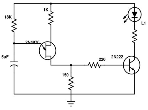 led blinker circuit diagram schematics led blinker