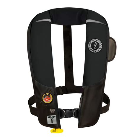 Mustang H I T Auto Inflatable Pfd mustang md3154 02 auto h i t inflatable pfd w harness