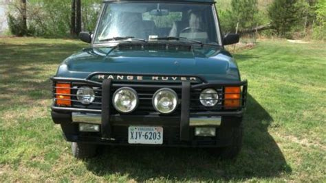 buy used 1994 land rover range rover county lwb needs transmission work in powhatan virginia