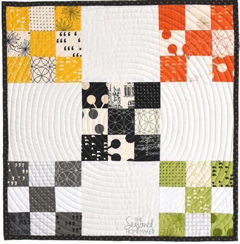 Nine Patch Beginner Quilt Block   The Seasoned Homemaker