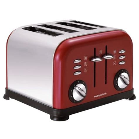Range Toasters Buy Morphy Richards Accents 4 Slice Toaster 44035 From Our