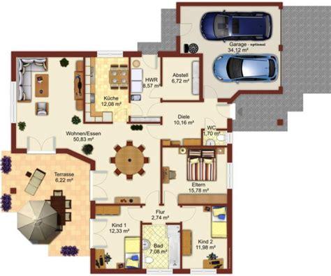 Winkelbungalow Grundriss 5 Zimmer by Grundriss Winkelbungalow 5 Zimmer Haus Entwurf Ideen