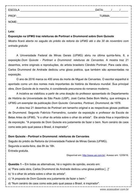 Atividade de português: Período Composto - 1º ano do