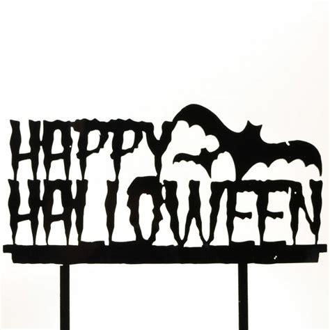 happy halloween spooky dracula bats black acrylic cake