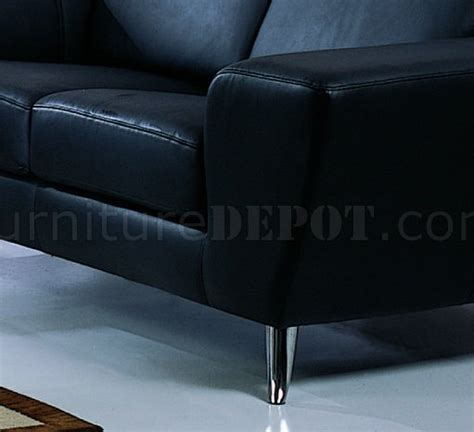 Leather Match Upholstery black leather match upholstery living room set