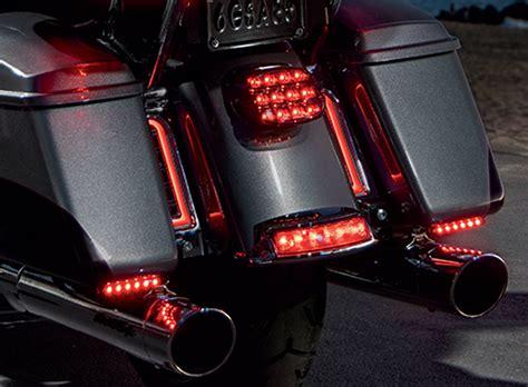 3 way led lights new harley davidson electra glo stealth three way led