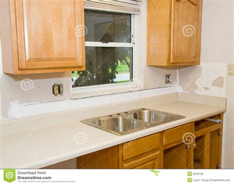 kitchen remodel cabinets home improvement royalty free