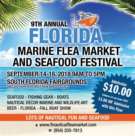 west palm beach boat show vendors the west palm beach marine flea market boat show and