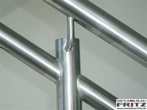edelstahl treppengeländer innen edelstahl treppengel 228 nder innen 14 07 metallbau fritz