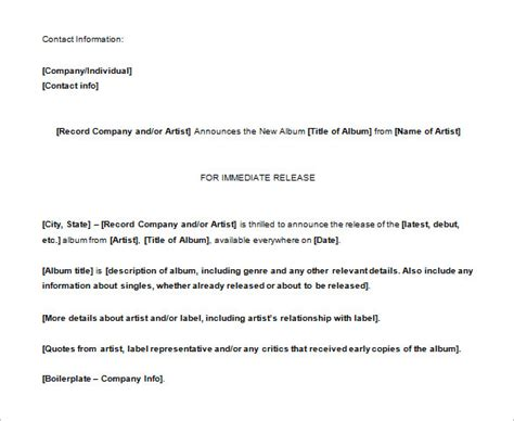 docs press release template 28 press release template word excel pdf free