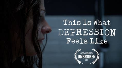 Looks Feels this is what depression feels like depression awareness