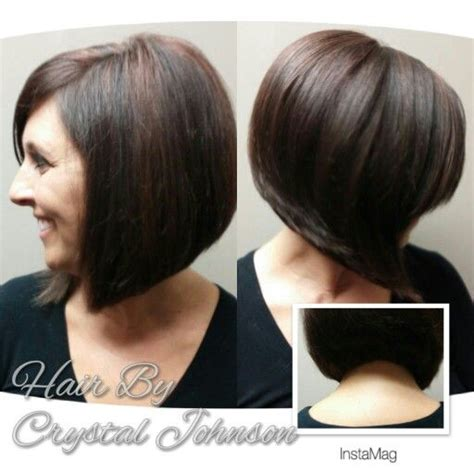 sling bob haircut pictures stacked sling haircut 20 flawless short stacked bobs to