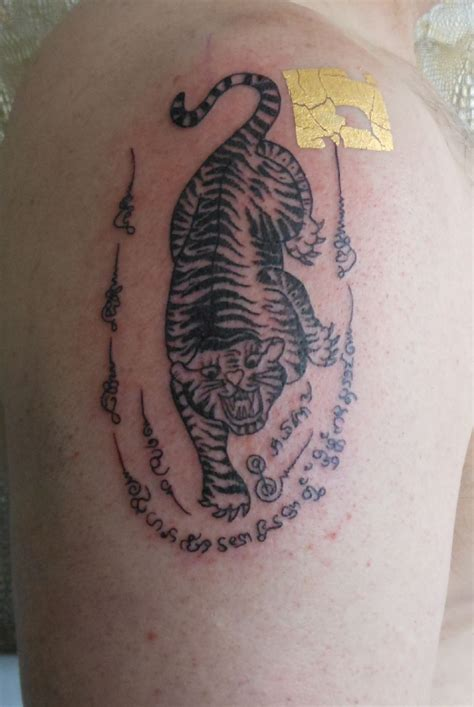 small thai tattoos thai tiger pictures to pin on tattooskid