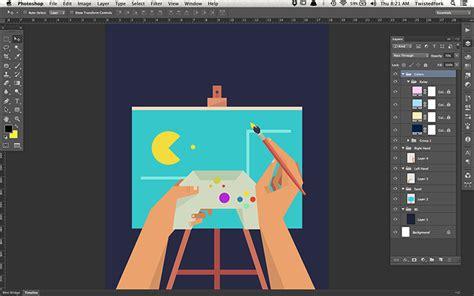 illustrator pattern import designer passport video game inspired art shutterstock