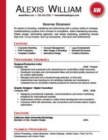 resume sle resume templates word free easy