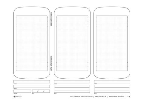 wireframe templates for android phones templates and android on pinterest