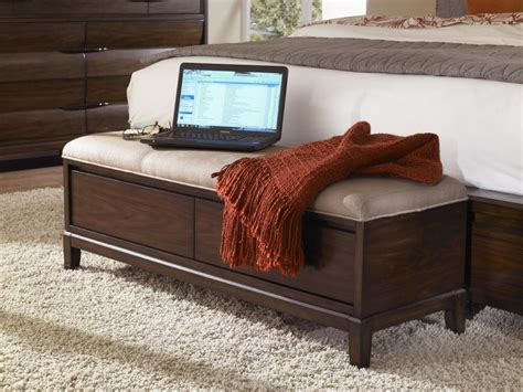 bedside storage bench add an extra seating or storage to your bedroom with an