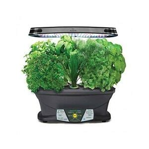 indoor herb garden kit grow box led grow lights gourmet