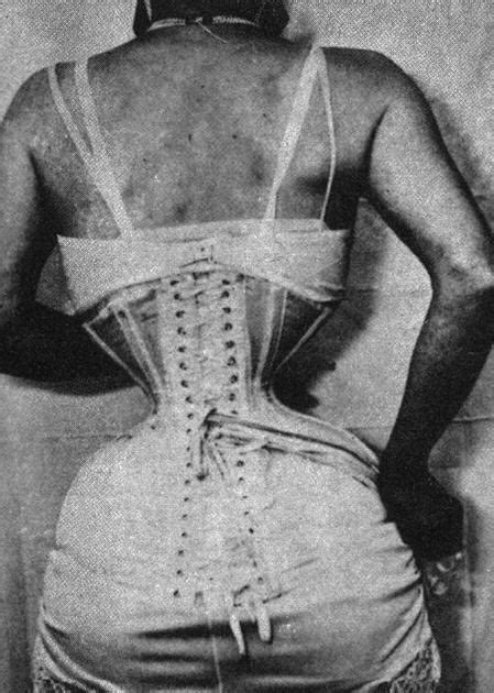 history of waist another terrible practice in the past corsetry