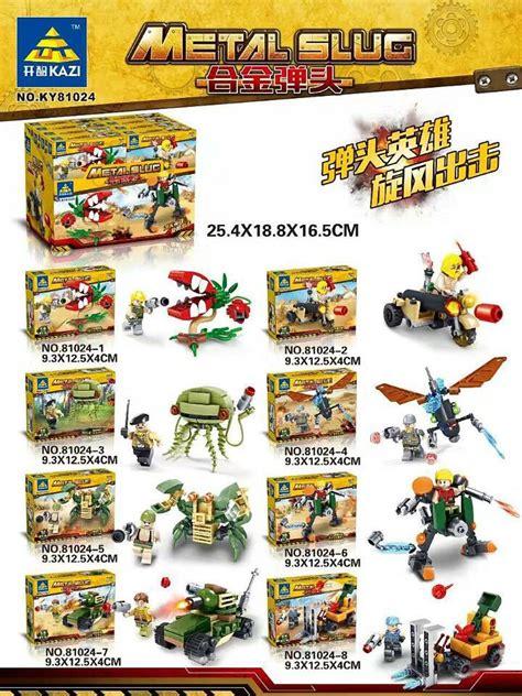 Brick Kazi 81022 Metal Slug popular metal slug toys buy cheap metal slug toys lots