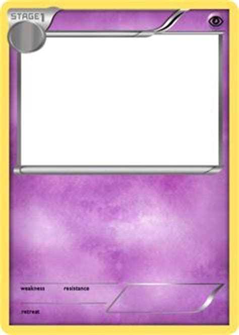 legendary card template blank cards blank card crafts