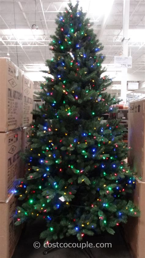 costco xmas trees ge 9 ft prelit led tree