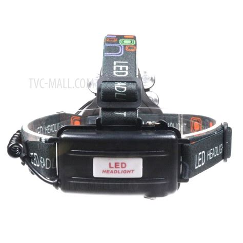 cree led rechargeable headl light 1500 lumens 5 cree led zoomable rechargeable led
