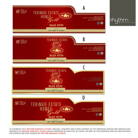 design label elegant serious label design for red lion australia by