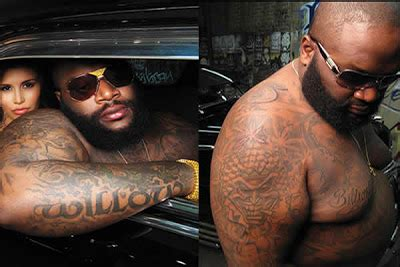 rick ross new tattoo posted by olanrewaju akinbolajo at thursday december 27 2012