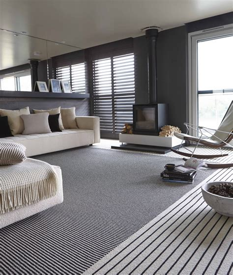 striped rug in living room monochrome elegance 30 black and white striped rugs