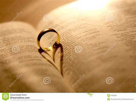 Wedding Bible Images by A Wedding Ring In The Bible Stock Photo Image 8732046