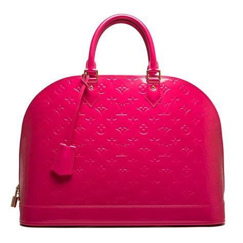 Louis Vuitton Alma Vernis Collection by Louis Vuitton Pop Monogram Vernis Alma Gm World S Best