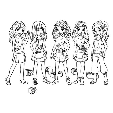 lego friends mia coloring pages free coloring pages