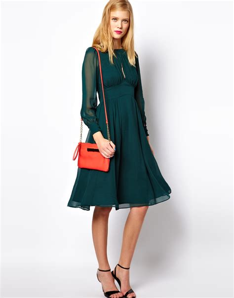 fashion dress 70s style 70s style midi dress from asos all the dresses
