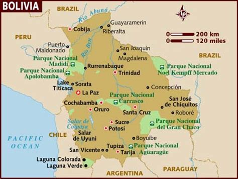 map of bolivia what city would you like to visit in bolivia spanishdict answers