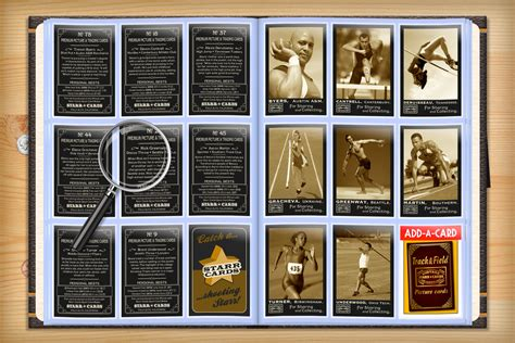 Can You Track A Gift Card - custom track and field cards vintage 95 starr cards