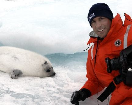 Nigel Barkers Saving Baby Seals While Waiting For His Own by Greening Genesis And Our Warm And Fuzzy Friends