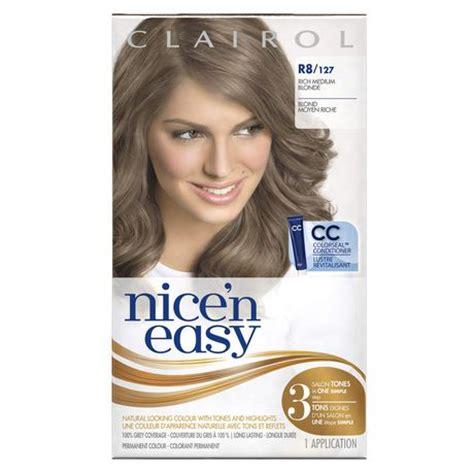 hair dye colors walmart clairol n easy hair colour 1 kit walmart canada