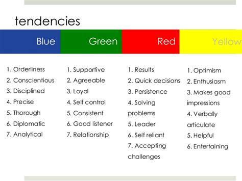 leadership colors