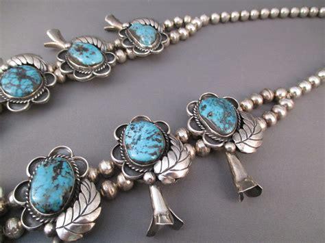 Antique Navajo Rugs Squash Blossom Necklaces For Sale Squash Blossom Necklace