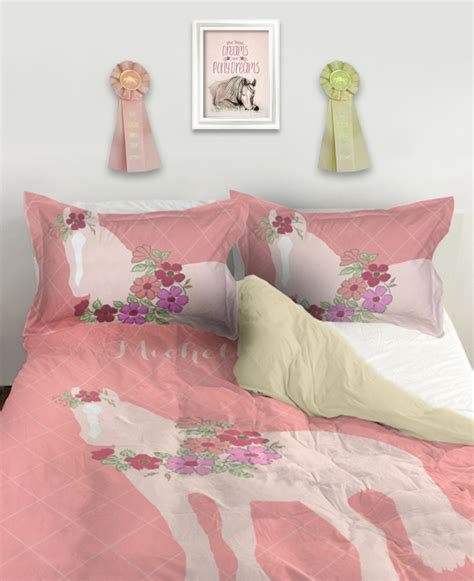 equestria bedding equestrian bedding from the painting pony horses heels