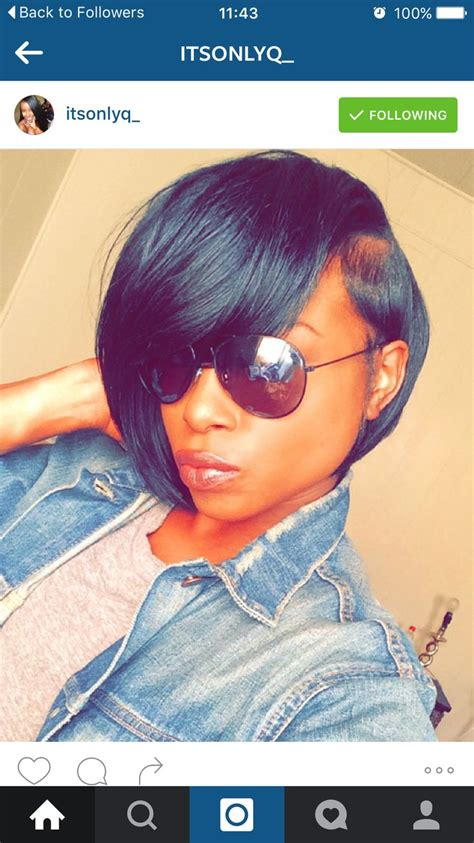 pictures of short weaves with swoop bang 93 best images about short haircuts on pinterest shorts