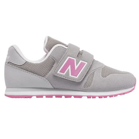 grey and pink new balance sneakers sneakers new balance 373 hook and loop shoes