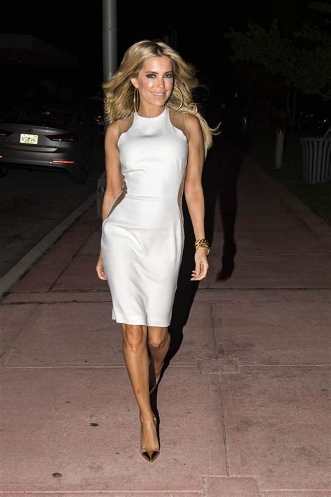 Silvie Dress sylvie meis in white dress out in miami