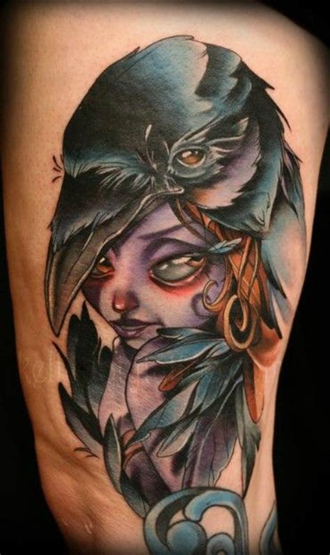 tattoo new school woman 17 best images about new school tattoos on pinterest